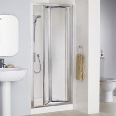 Lakes 900mm Framed Bi Fold Shower Door